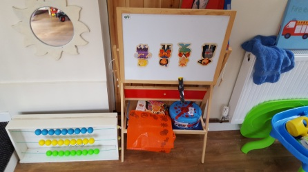 Toy cupboard